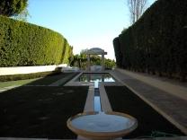 Aluminum trellis - Beverly Hills