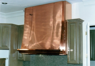 Copper range hood - Century City