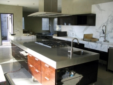 SS countertop (1) -Hollywood Hills