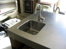 SS countertop (2) - Hollywood Hills