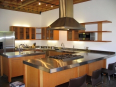 SS kitchen - Mar Vista (1)