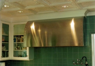 SS kitchen range hood - Pacific Palisades