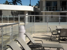 SS pool enclosure (2) - Santa Monica