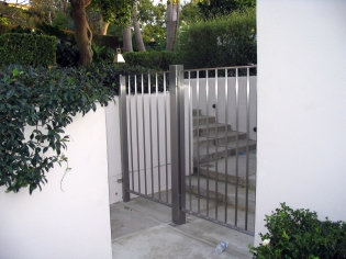 SS pool enclosure gate (2) - Santa Monica
