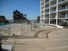 SS pool enclosure - Santa Monica